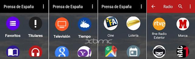 descarga aplicación PRENSA DE ESPAÑA