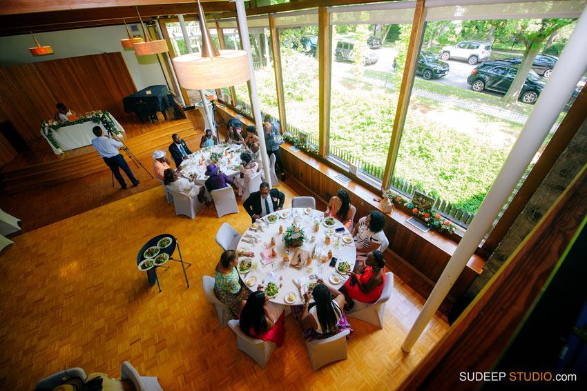 Ann Arbor Stone Chalet Inn Wedding Photography Reception Hall Decoration by SudeepStudio.com Ann Arbor Detroit Michigan Wedding Photographer