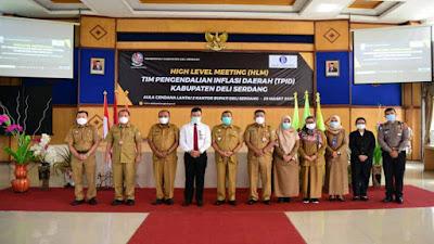 Bupati H Ashari Tambunan Buka HLM TPID Kabupaten Deli Serdang