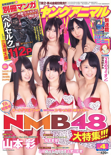 Hot girls Japan porn magazine cover 2012 collection 3