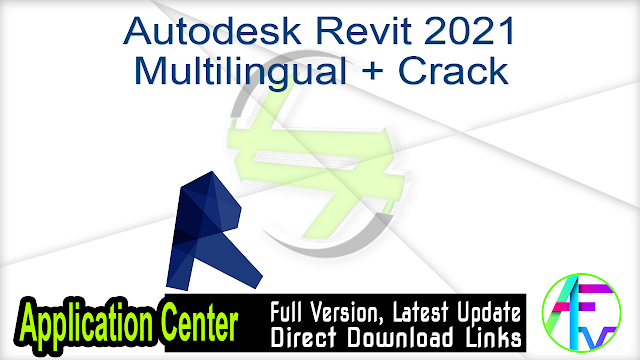 Autodesk Revit 2021 Multilingual + Crack