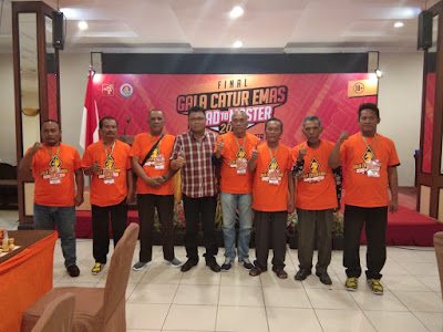 Bravo Atlet Catur Labuhanbatu Raih 10 Besar Gala Catur Emas 2019