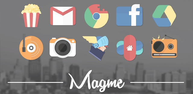 Magme - Icon Pack v2.7 APK Android Theme