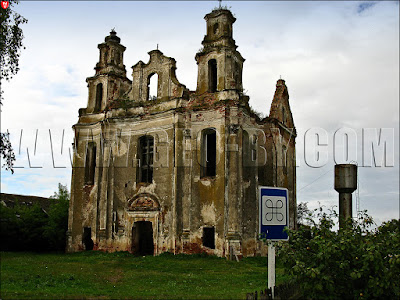 Смоляны. Костел доминиканцев Святой Марии. Руины