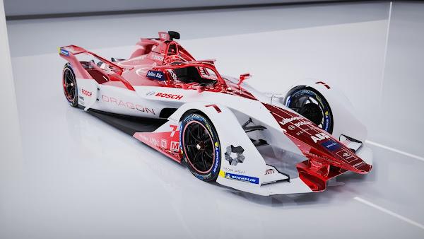 Desportos motorizados eletrificados: Bosch e DRAGON / PENSKE AUTOSPORT estabelecem parceria de longo prazo na Fórmula E