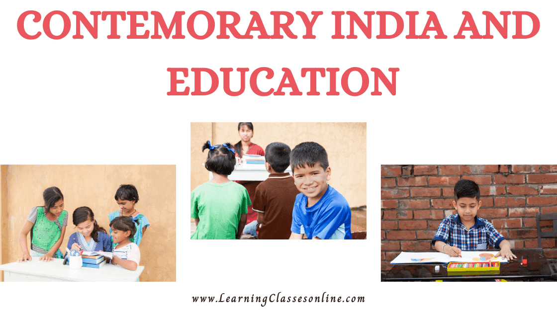Contemporary India And Education subject B.Ed, b ed, bed, b-ed, 1st, 2nd,3rd, 4th, 5th, 6th, first, second, third, fourth, fifth, sixth semester year student teachers teaching notes, study material, pdf, ppt,book,exam texbook,ebook handmade last minute examination passing marks short and easy to understand notes in English Medium download free