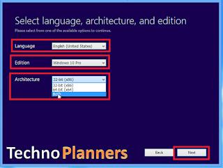 Windows 10 ISO Image (32-Bit 64-Bit) file