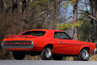 1969 Mercury Cougar Boss 302 Rear Right