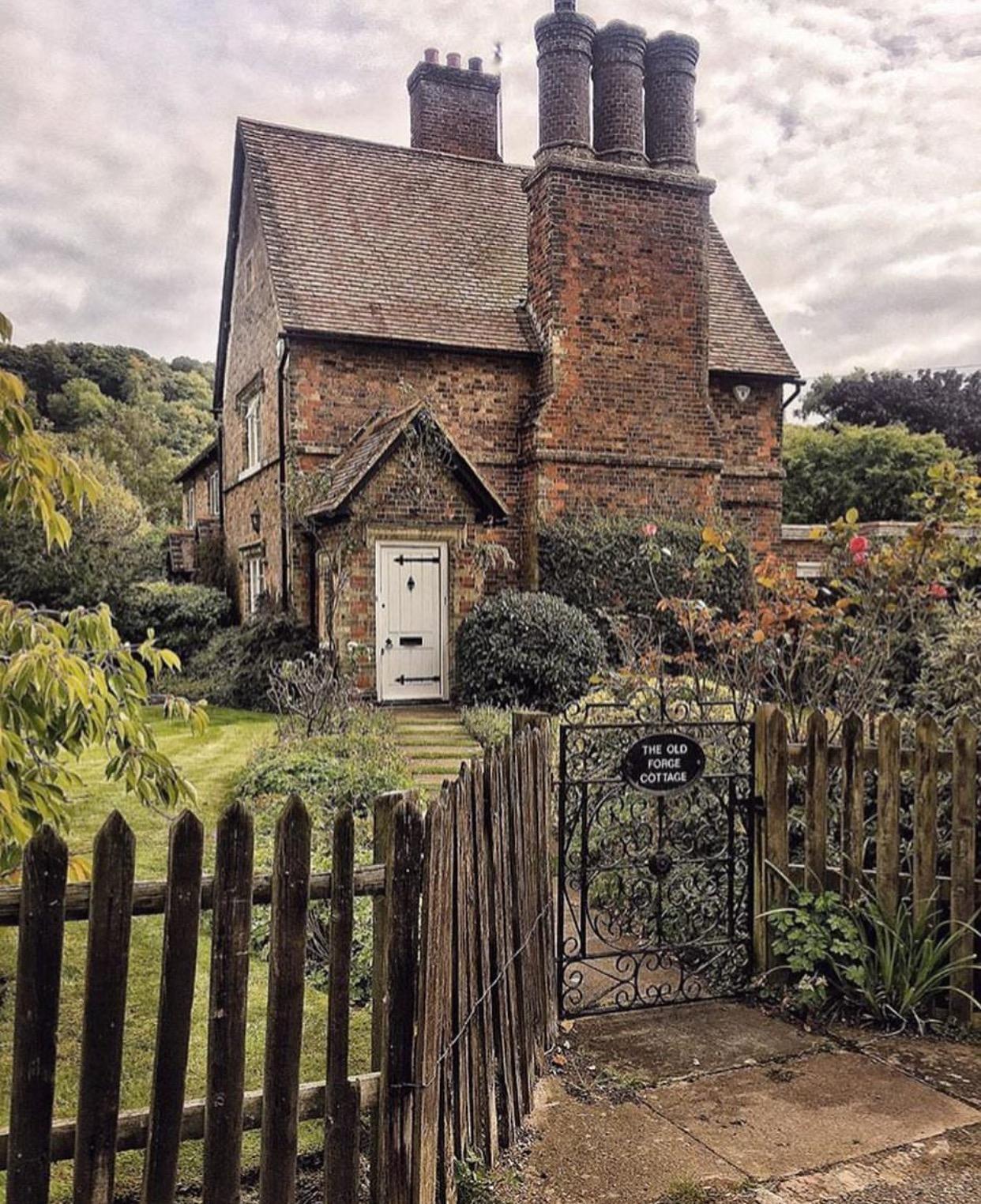 Cottage Chimney In Hertfordshire UK