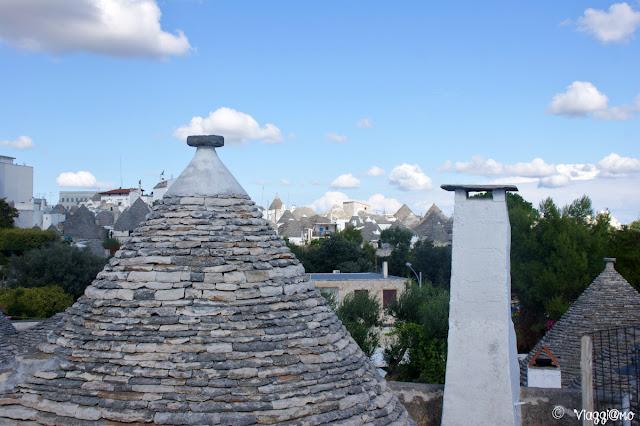 Alberobello - vista panoramica sui tetti