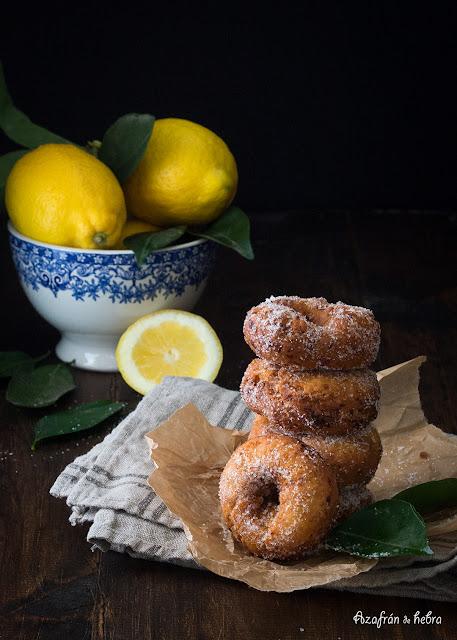 Rollos de limón