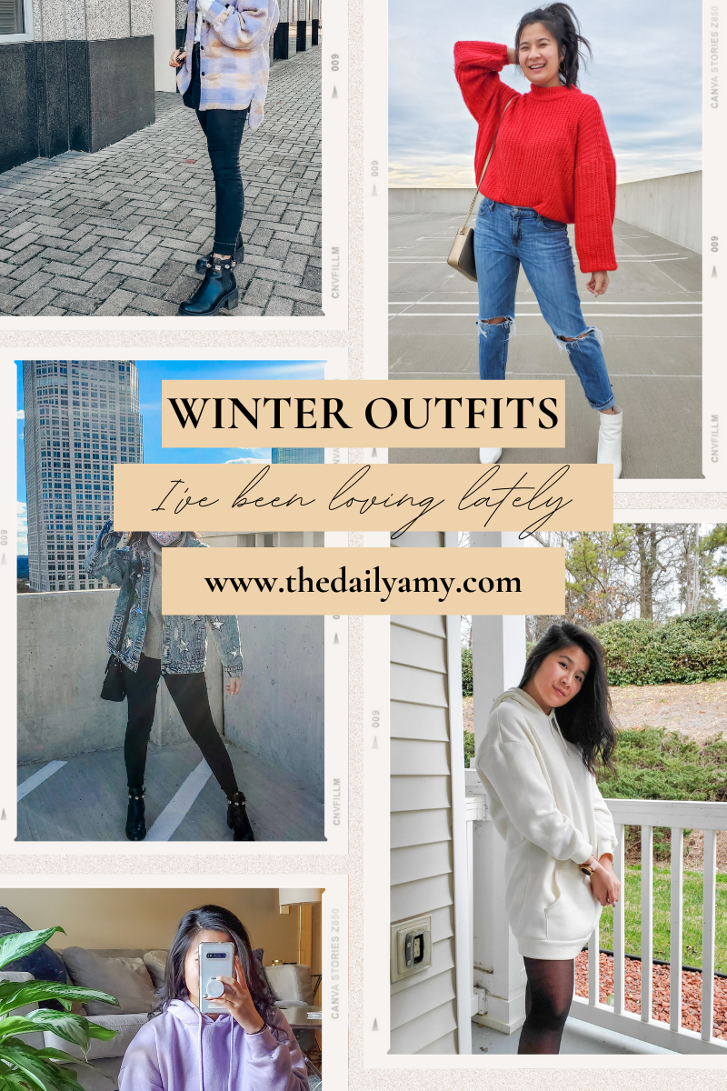Winter outfits I've been loving lately