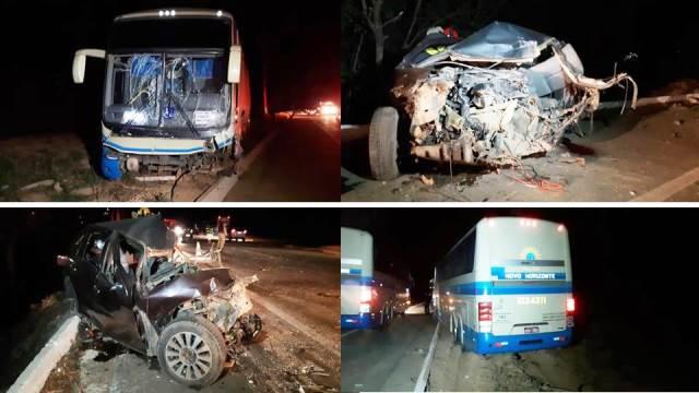 Acidente envolvendo ônibus da Novo Horizonte que seguia para a BA deixa um morto em MG