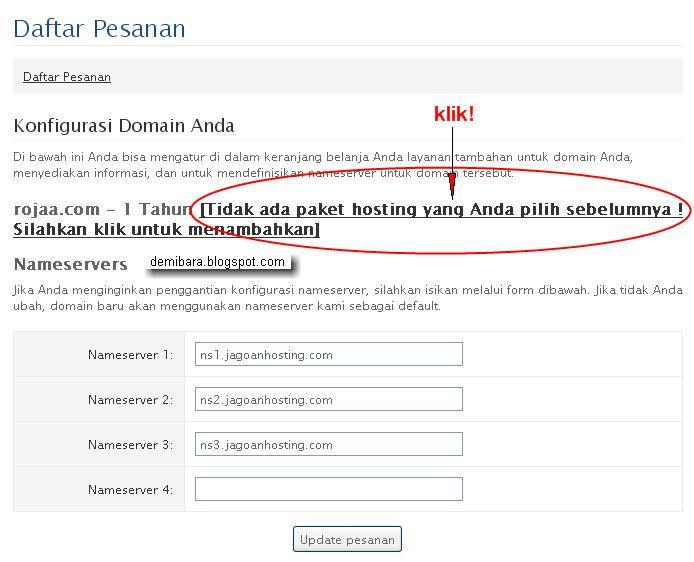 Cara Hosting Website Untuk Toko Online - Konfigurasi Domain