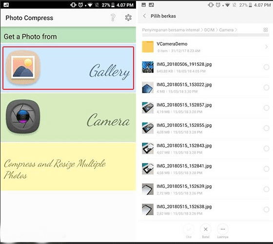 Cara Memperkecil Ukuran Foto di Android