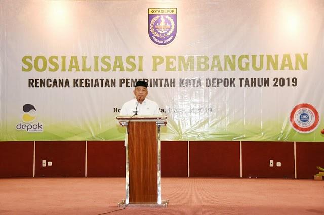 Tahun 2019 Pemkot Depok Lanjutkan Pembangunan Infrastruktur