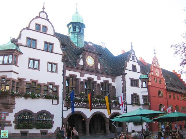 Plaza del Ayuntamiento, Friburgo