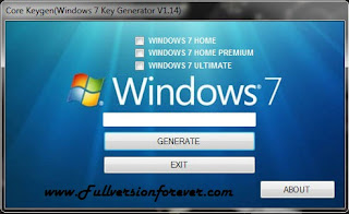 Activate Windows 7 All Edition by Daz Permanent full version
