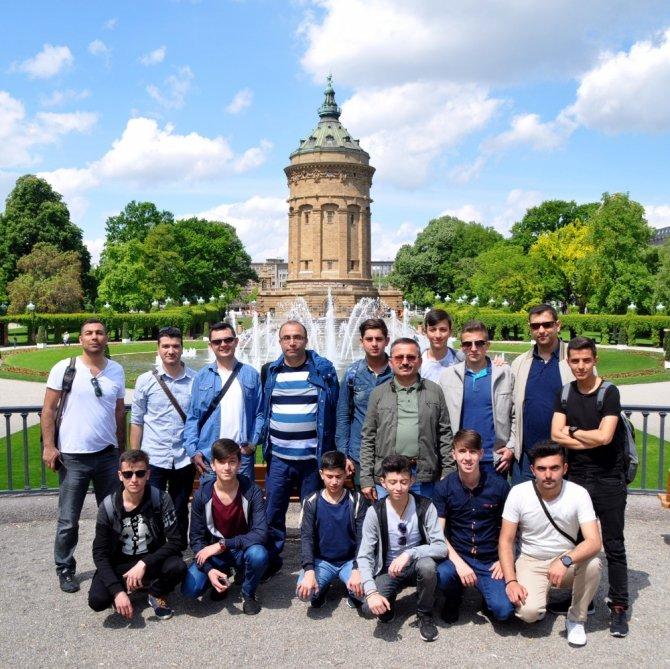 Harun İstenci Erasmus+ kapsamında Almanya'da