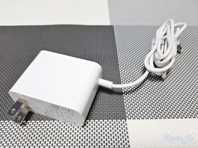 【MI 小米】米家無線吸塵器 G9 (白色) 開箱_電源供應器