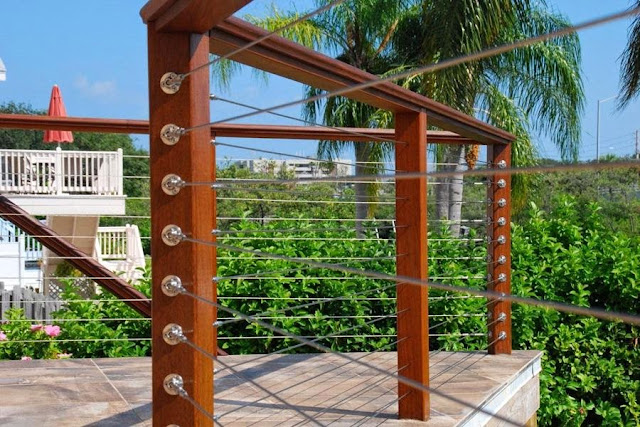 Cable Deck Railing System picture