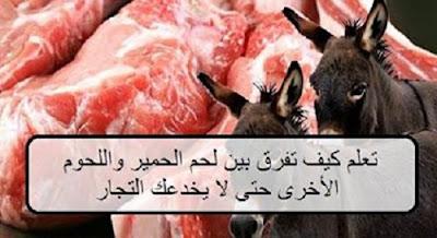 هل تعلم | كيفية التفريق بين لحم الحمير واللحوم الأخرى حتى لا يخدعك التجار ؟؟؟