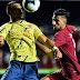Com gol no fim, Colômbia fura defesa do Catar e se classifica às quartas de final