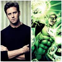 Armie Hammer - Green Lantern