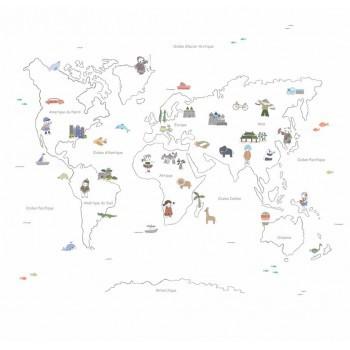 Bb the countrybaby blog - Mural mapa mundi ...