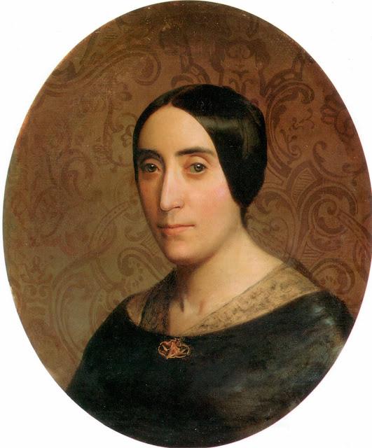 Адольф Вильям Бугро - портрет Амелины Дюфо-Бугро (1850)