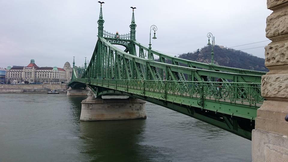 Budapest: Il Ponte della Libertà (Szabadsàg Hid)