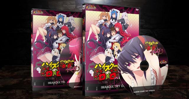 High School DxD Hero | Cover DVD |