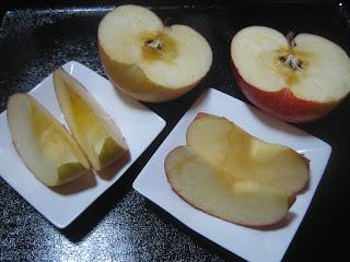 徳佐りんごをいただきました