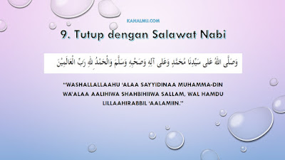 bacaan doa setelah sholat - kanalmu