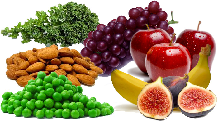 healthy food and living