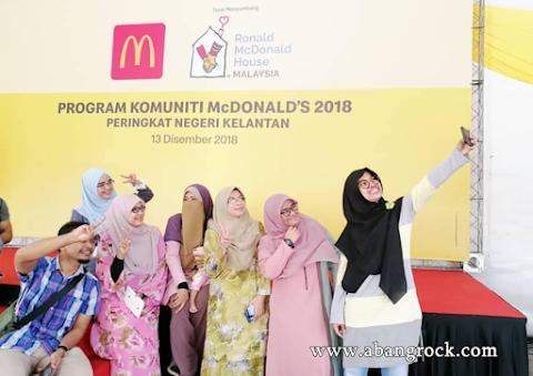 McDonald's sumbang lebih RM 480,000 kepada golongan kurang bernasib baik menerusi Program Komuniti McDonald's 2018 - Peringat Negeri Kelantan