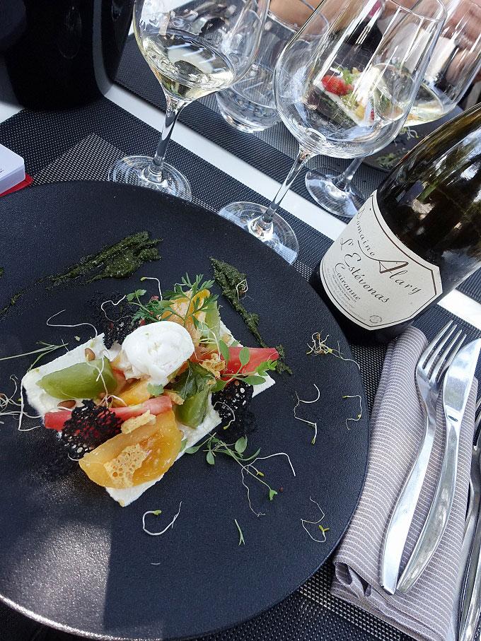 Lunch at Côteaux et Fourchettes
