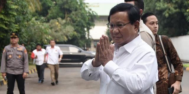 Prabowo sowan ke JK, salah satu pembahasan soal Pilpres