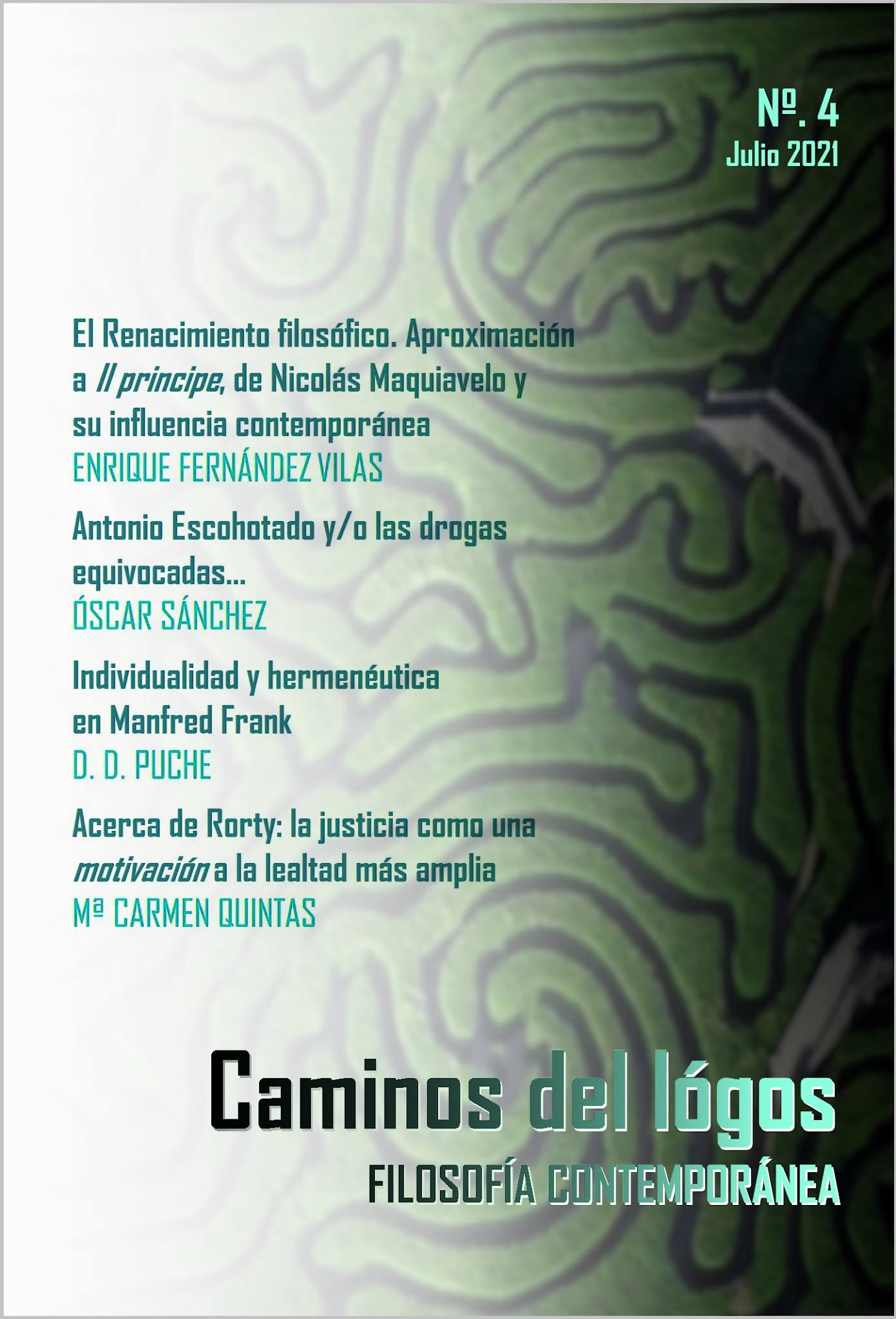 Revista Caminos del lógos. Filosofía y humanidades.