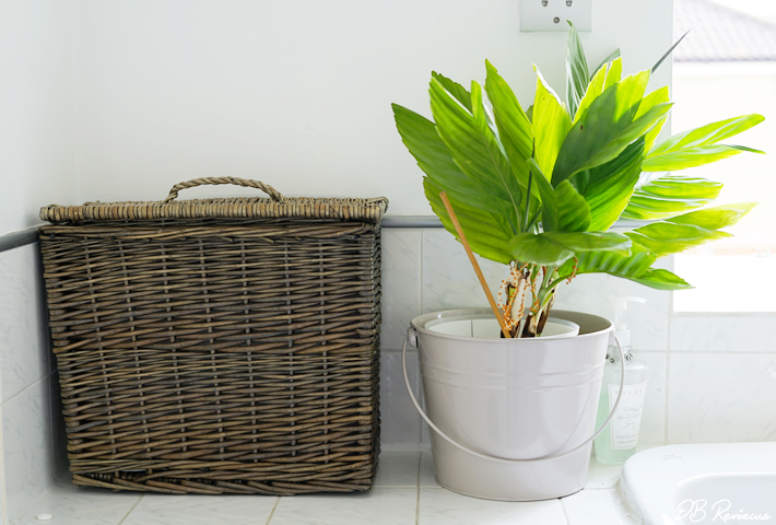 Wicker Toilet Roll Basket Holder