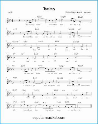 tenderly  lagu jazz standar