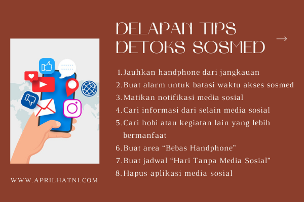 tips detoks sosmed