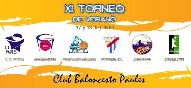 Baloncesto | Paúles celebra su torneo de verano con equipos de Euskadi, Salamanca y León