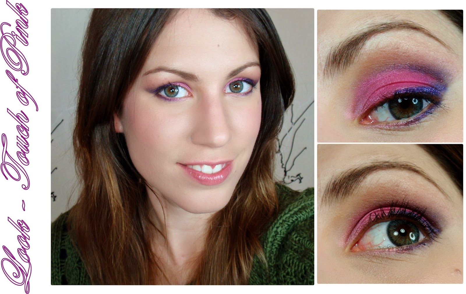 rubibeauty makeup look maquillaje touch of pink pinky paradise