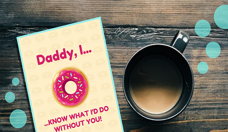 15+ Fun Father's Day Card Templates to Show Your Dad He's #1 #infographic