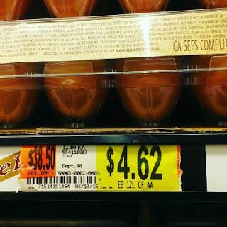 free range brown egg prices