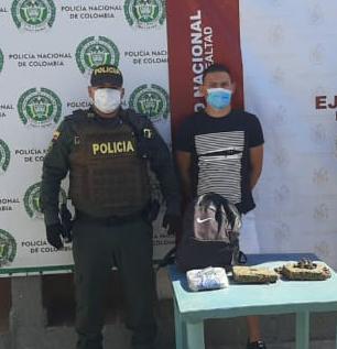 hoyennoticia.com,  'Caído' con dos kilos de marihuana en Maicao