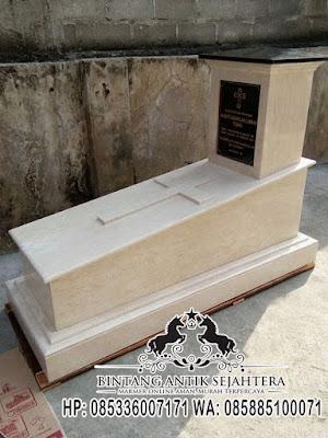 Kijing Makam Kristen, Makam Kristen Modern, Makam Kristen Mataram