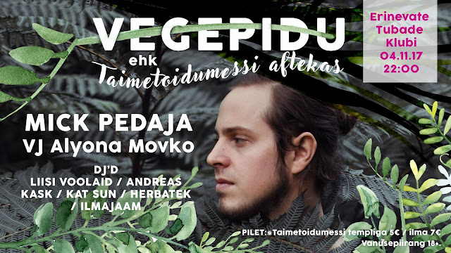 Вег-пати / Vegepidu / VegParty
