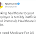 Employers should have no say over whether you have health care or not (Picture)